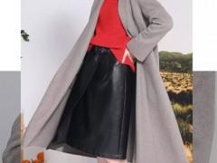 莎斯莱思女士服装:双面呢大衣相伴的女人 必成为一道风景