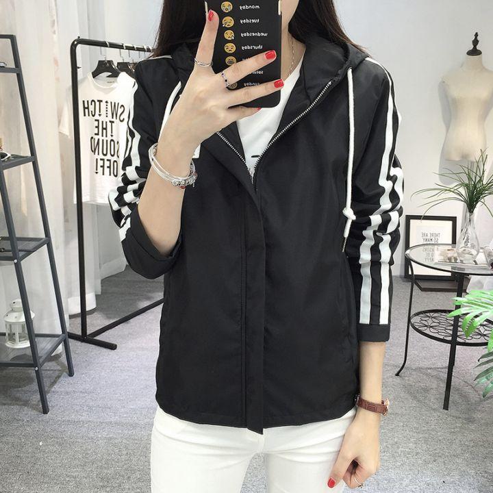 最新春天新款春秋韩式夹克塑身学生衣服长袖外套