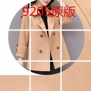 小个子毛呢外套女短款最新款秋冬季服装韩式呢子矮个子斗篷妮子大衣