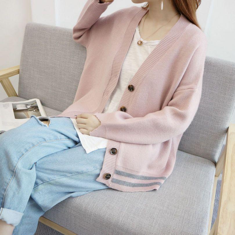 秋装外套女最新款韩式可爱春秋天学生开衫上衣